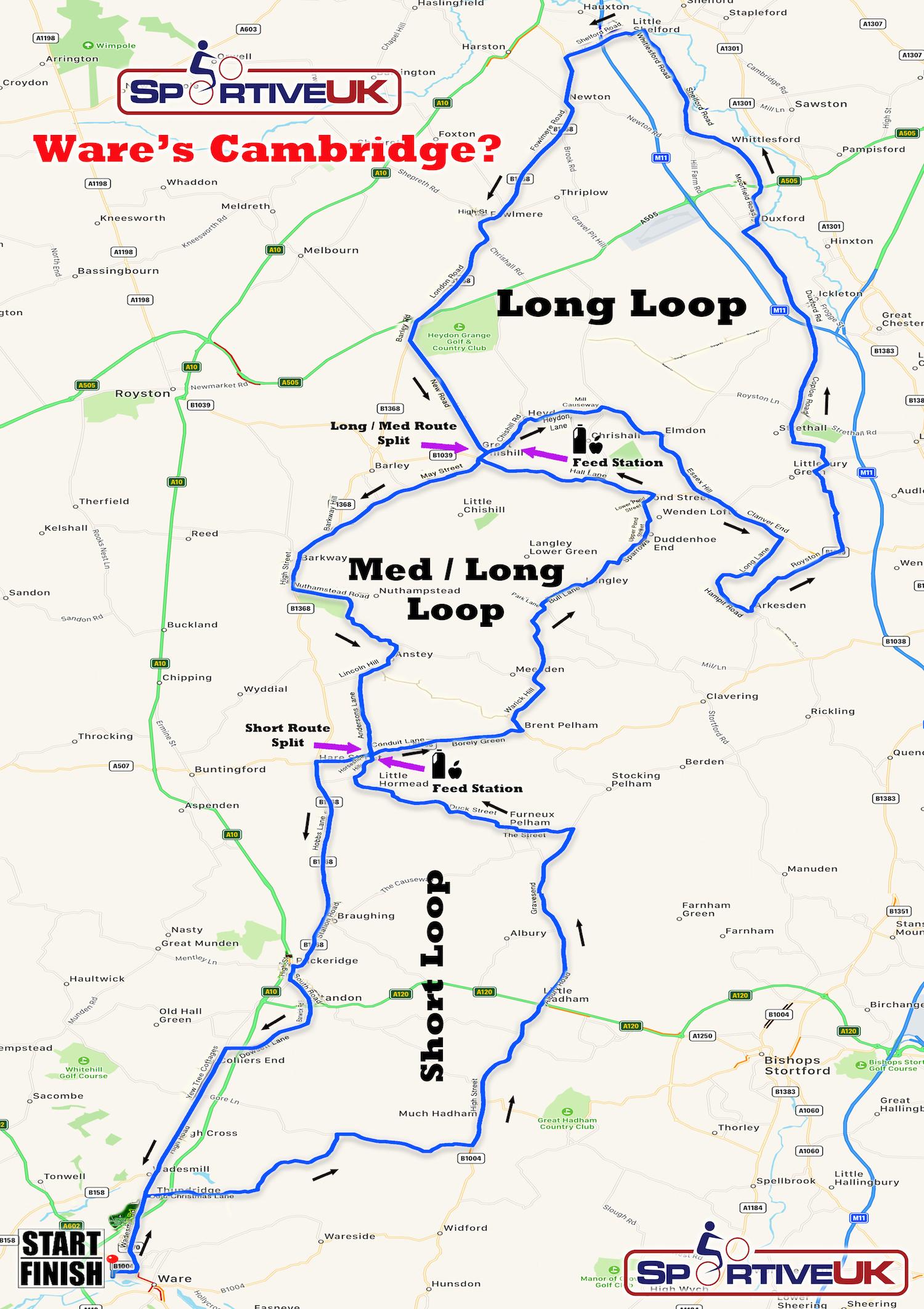 Ware's Cambridge? Map